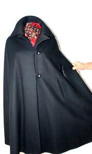 Luxus Elegant Wolle Cape Umhang Trachten Mantel TOP Zustand 42-44 / M-L