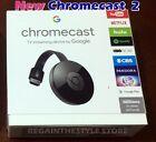 Google Chromecast 2 Digital HDMI Media Streamer Genuine ✔✔ FREE USA SHIPPING ✔✔