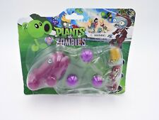 PLANTS vs. ZOMBIES Pea Shooter and Buckethead 2015 Pop Cap King Toy Ltd game MOC