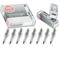8 pc 8 x NGK V-Power Plug Spark Plugs 6962 BKR6E 6962 BKR6E Tune Up Kit Set kf