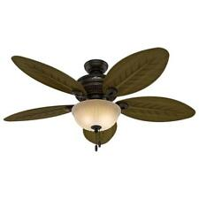 Hunter Grand Cayman 54 in. Indoor/Outdoor Onyx Bengal Bronze Ceiling Fan