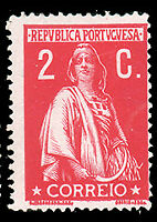 Portugal #211 MHR CV$20.00 (Chalky Paper) Ceres
