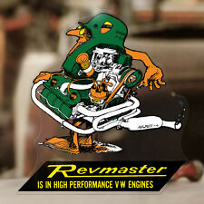 Revmaster Aircooled Aufkleber Sticker Autocollant Trike Pegatina Käfer Cox