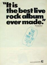 THE WHO 1970 POSTER ADVERT LIVE AT LEEDS