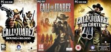 call of juarez & bound in blood & the cartel