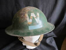 British Home Front Helmet - Wardens with Rank Markings