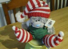 Me To You Tatty Teddy Christmas Elf Hat Sitting Soft Toy WITH TAG