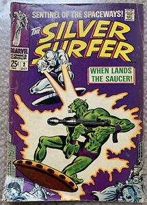 SILVER SURFER #2 - 1968 - Stan Lee - Marvel