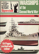 Warships of the Second World War - Over 60 coloured pages (Softback) Phoebus