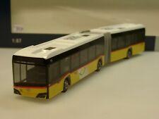 Rietze Solaris Urbino '18 Gelenkbus POSTAUTO Schweiz (CH) - 77501 - 1:87