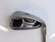 Ping  G20 Yellow Dot 6 Iron TFC 169 Regular Flex Graphite Shaft Ping Grip