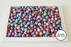 75 x Random Mix Handmade Polymer Clay Round Beads Approx. 8mm Bead Jewellery
