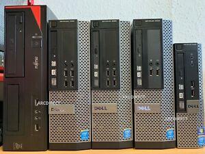 Dell Optiplex 9020 7020 3020 SFF Core i5 PC SSD HDD Desktop Computer Windows 10