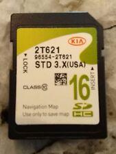 2014 2015 KIA Optima GPS Navigation SD CARD DATA U.S Map Part 96554-2T621 update