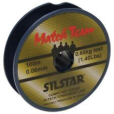 New Coarse Fishing Line Match Team Silstar High Tech Fishing Line 6.6lb 100m