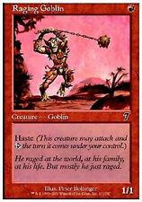 MRM French 4x Gobelin enragé (Raging Goblin) MTG magic 7eme