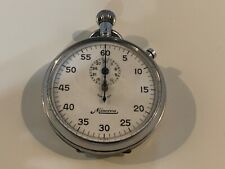 Vintage Minerva Swiss Stopwatch Timer M. Ducommun Co Fully Functional