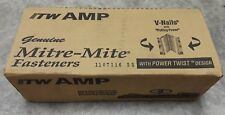 Itw Amp Power Twist 7mm V-nails Hpt Miter Mite nails Pulling Power Picture Frame