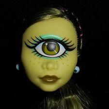 NEW Iris Clops Monster High Doll Head for OOAK Cyclops Green Hair Skin Big Eye