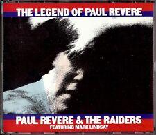 PAUL REVERE & THE RAIDERS - THE LEGEND OF PAUL REVERE  2 CD 1990  CBS