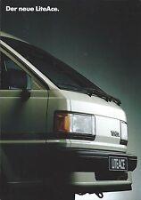 Auto Van Truck Brochure - Toyota - LiteAce - GERMAN prospekt - c1986 (T2142)