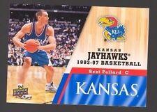 2013 Upper Deck Kansas #55 Scot Pollard Mint Jayhawks KU Basketball Rock Chalk