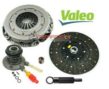 VALEO-FX HD CLUTCH KIT w SLAVE for 96-03 CHEVY S10 GMC SONOMA ISUZU HOMBRE 2.2L