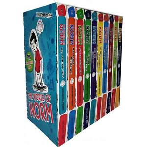 The World of Norm Collection Jonathan Meres 10 Books Set World book day Norm