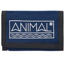 Animal Sidetrack 3 Leaf Men's Wallet DW8SN013/F94 Dark Navy NEW NO PACKAGING