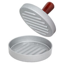 Hamburger Beef Burger Quarter Pounder Patty Maker Mould Press Barbecue BBQ Grill