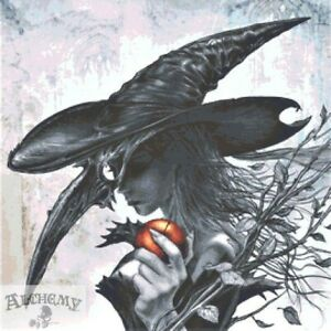 Large Witch Counted Cross Stitch Kit - Alchemy Gothic - Fantasy - Halloween UK