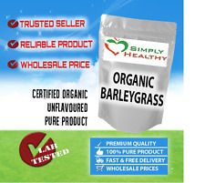 ORGANIC BARLEY GRASS POWDER CERT ORGANIC 500g BEST AVAILABLE