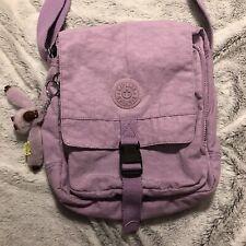Rare Kipling Lancelot Lavender Shoulder or Crossbody Bag