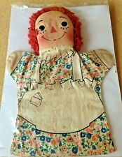 5 Assorted Vintage Raggedy Ann & Andy Classic Doll Character Items!