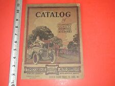 JD530 RARE Vintage 1920 Auto Supply Co Automobile Parts Catalog Triumph Tires Ad