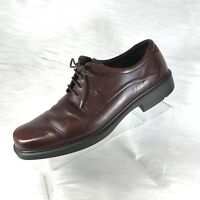 ECCO Mens Oxfords Brown Leather Size 47 US 13-13.5