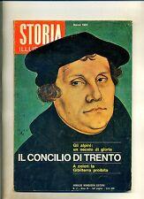 STORIA ILLUSTRATA#MARZO 1965 N.88#ALPINI#CONCICLIO DI TRENTO#Mondadori