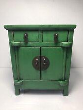 CHARMING Vintage Wood Miniature Knick Knack CURIO DISPLAY Cabinet / Storage