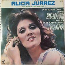 ALICIA JUAREZ -ACOMPAÑAMIENTO DEL MARIACHI ORO Y PLATA- MEXICAN LP STILL SEALED