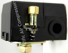 CAC-4221-1 SEARS CRAFTSMAN PRESSURE SWITCH 95 PSI ON 125 PSI OFF SINGLE PORT