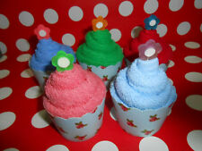 Cupcake Towels - birthday & wedding favors