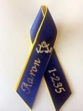 New Large PIR Ribbons - Navy RTC Pass In Review, Military Boot Camp Graduation