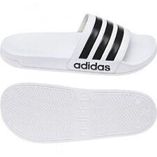 Adidas adulto Neo chanclas Cloudfoam Adilette blanco / negro 12