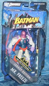 2011 MATTEL DC UNIVERSE BATMAN MR. FREEZE LEGACY EDITION ACTION FIGURE NEW TOY