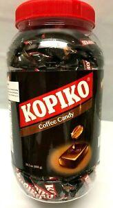 200 Pieces/Jar of Kopiko Coffee Candy OR Cappuccino Candy 28.2 Oz Bulk