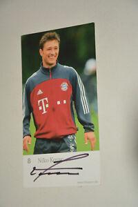 8 Nico Kovac Autogrammkarte Bayern München 2002-03