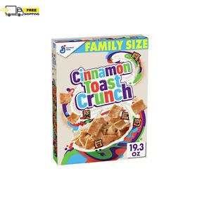 Cinnamon Toast Crunch Whole Grain Breakfast Cereal, Family Size, 19.3 oz.