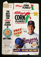 Nolan Ryan, Kellog's Corn Flakes Box, 1993, Excellent Condition