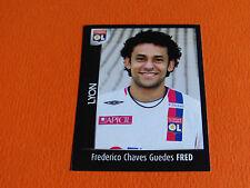 N°205 FRED OLYMPIQUE LYONNAIS LYON OL PANINI FOOT 2008 FOOTBALL 2007-2008