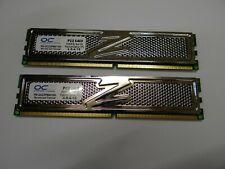 RAM OCZ Platinum XTC DIMM Kit 1gb, ddr2-800, cl4-5-4-15 ocz2p8001gk pc-500